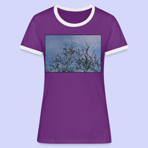 Summer times - Male shirt - Dame kontrast-T-shirt