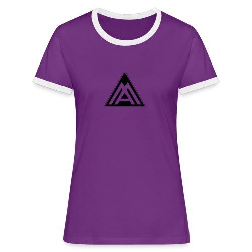 AM - Maglietta Contrast da donna