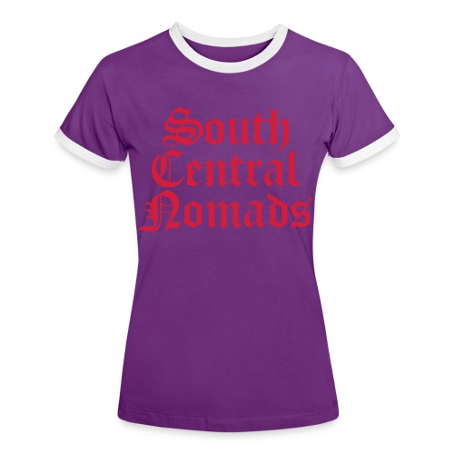 South Central Nomads - Frauen Kontrast-T-Shirt