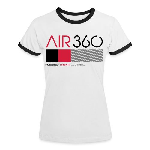 Air360 - Camiseta contraste mujer