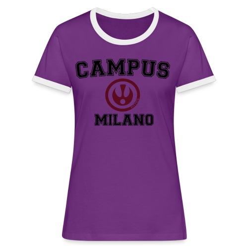 FITTICS MILAN CAMPUS - Women's Ringer T-Shirt