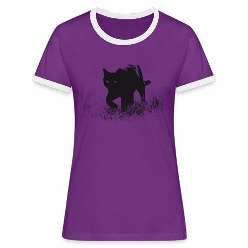 Timo - Frauen Kontrast-T-Shirt