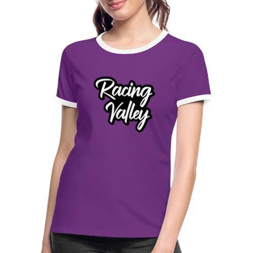 Racing Valley - Maglietta Contrast da donna