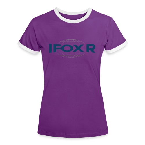 IFOX MUGG - Kontrast-T-shirt dam