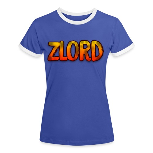 YouTuber: zLord - Maglietta Contrast da donna