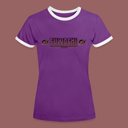 Suwoshi Streetwear - Vrouwen contrastshirt