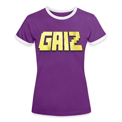 POw3r-gaiz maglia - Maglietta Contrast da donna