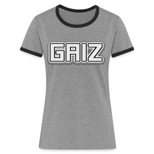Gaiz maglie-senza colore - Maglietta Contrast da donna