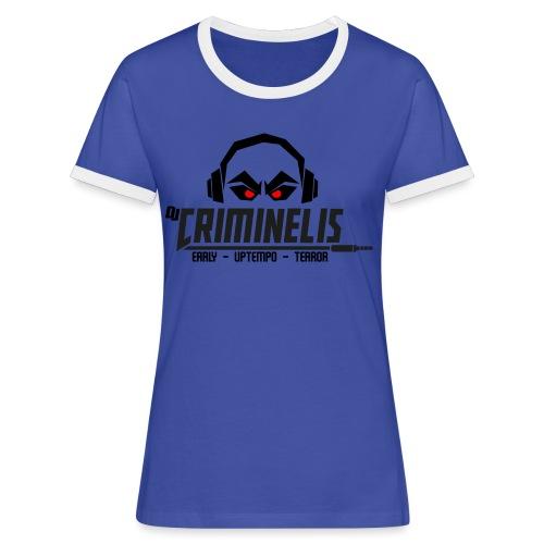 criminelis - Vrouwen contrastshirt