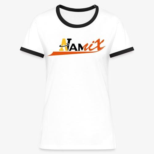 Namix - T-shirt contrasté Femme