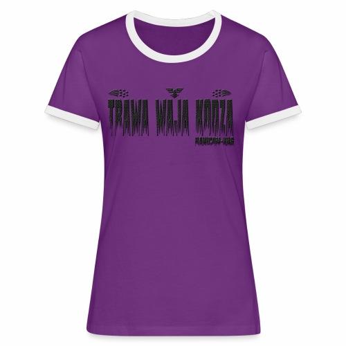 KNG - T-shirt contrasté Femme