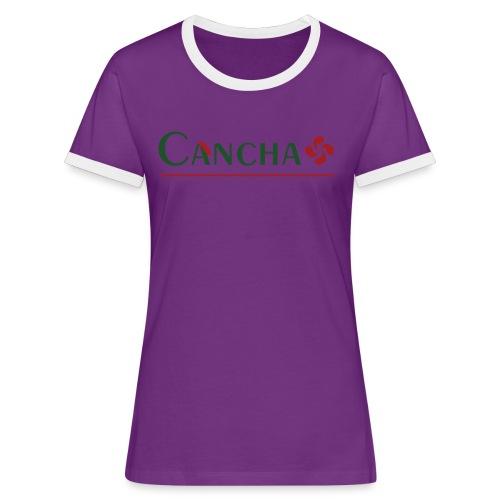 Cancha - T-shirt contrasté Femme