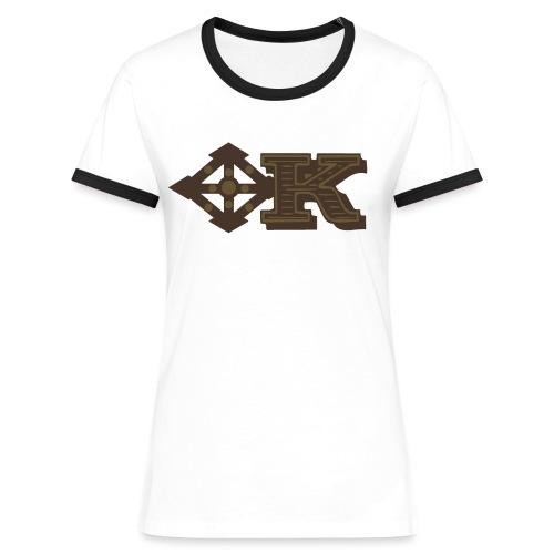 Kenya Airways Logo - Women's Ringer T-Shirt