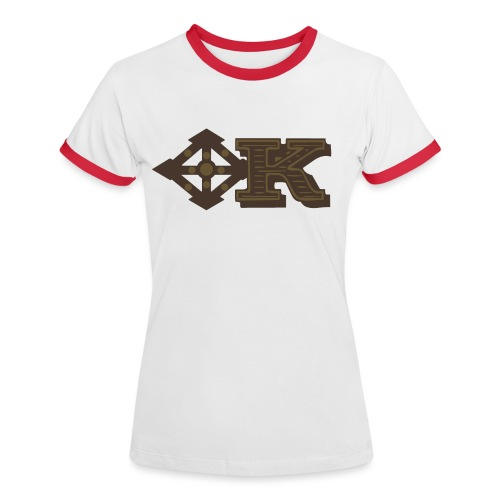 Kenya Airways Logo - Women's Ringer T-Shirt