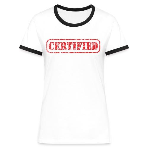 Certified - Vrouwen contrastshirt