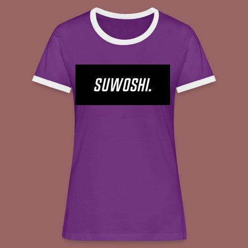 Suwoshi Sport - Vrouwen contrastshirt