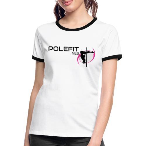Pole-Fit-NES - Frauen Kontrast-T-Shirt