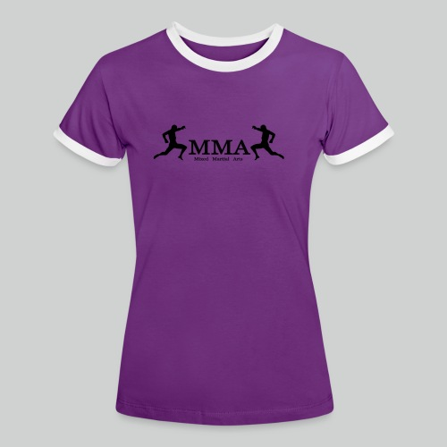 MMA Fighters - Frauen Kontrast-T-Shirt
