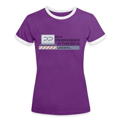 i m a programmer in the make - Vrouwen contrastshirt