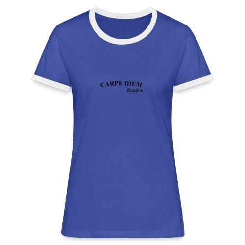 CarpeDiem - Maglietta Contrast da donna