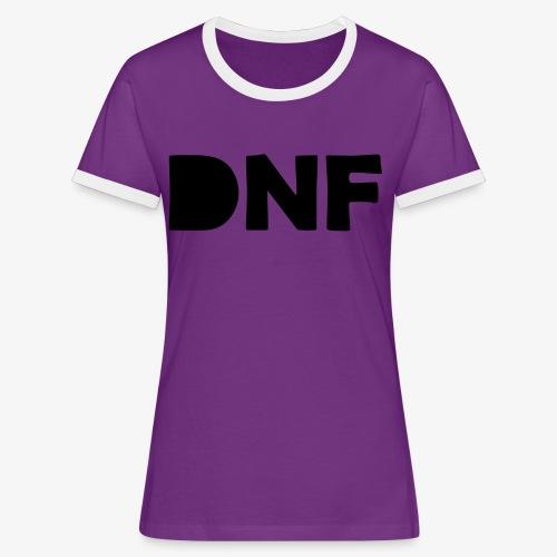 dnf - Frauen Kontrast-T-Shirt