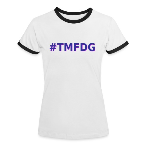 Collection : 2019 #tmfdg - T-shirt contrasté Femme