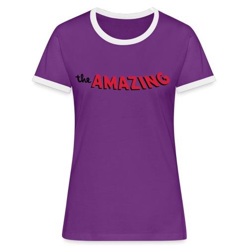 Amazing - Vrouwen contrastshirt