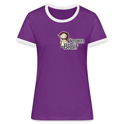 team blair - Camiseta contraste mujer