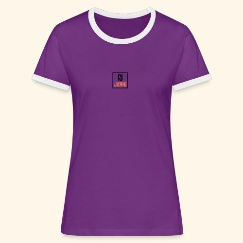Janni Original Design - Dame kontrast-T-shirt