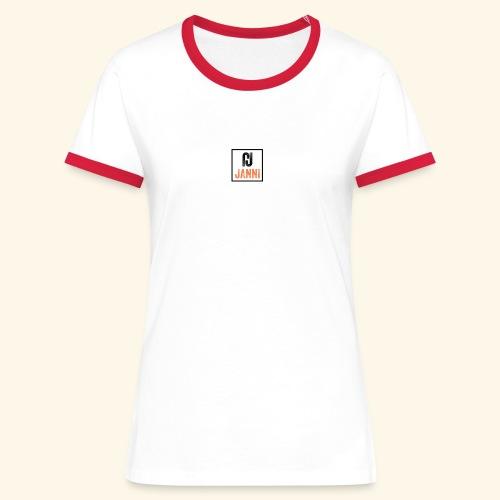 Janni Original Streetwear Collection - Dame kontrast-T-shirt
