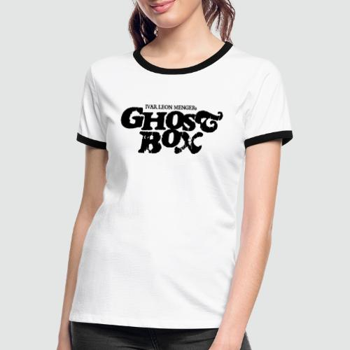 Ghostbox - Frauen Kontrast-T-Shirt