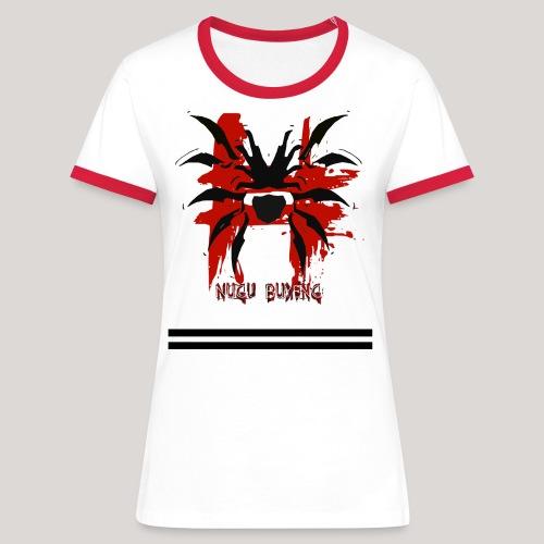 Cissaronid 2 Nugu Buyeng - Frauen Kontrast-T-Shirt