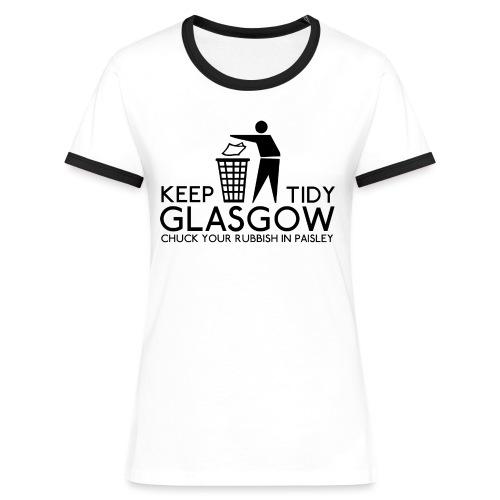 Keep Glasgow Tidy - Women's Ringer T-Shirt