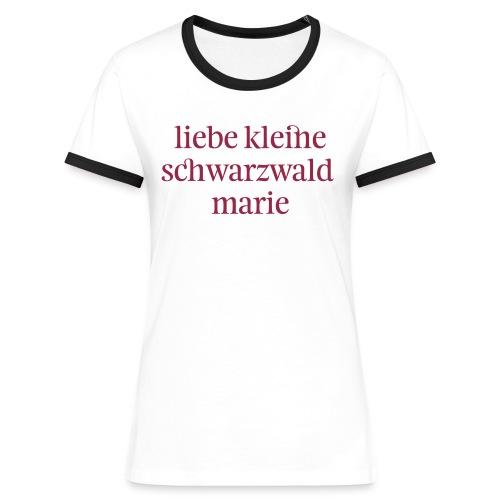 schwarzwaldmarie - Frauen Kontrast-T-Shirt