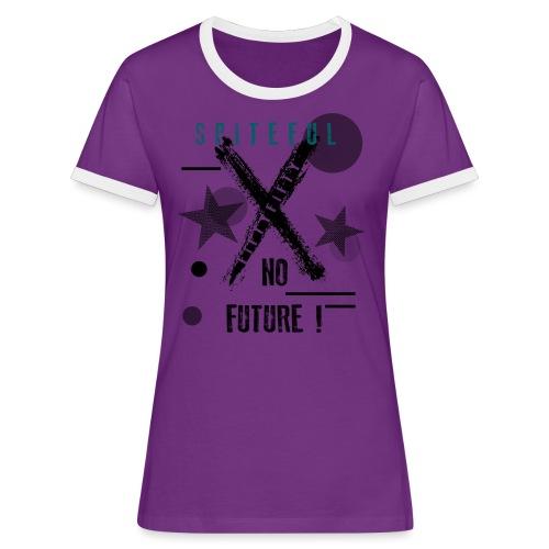 FIFTY - Maglietta Contrast da donna
