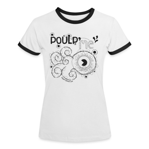 Poulp me - T-shirt contrasté Femme