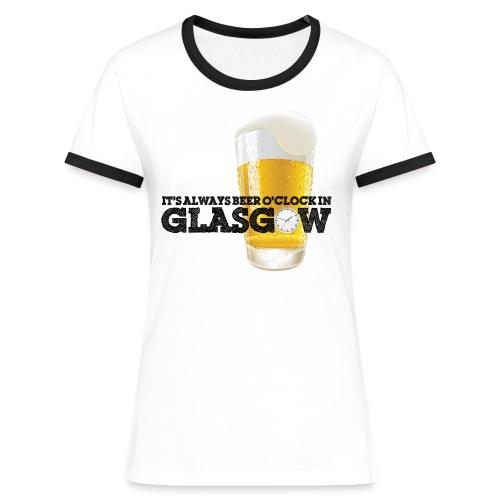 Beer O Clock - Women's Ringer T-Shirt