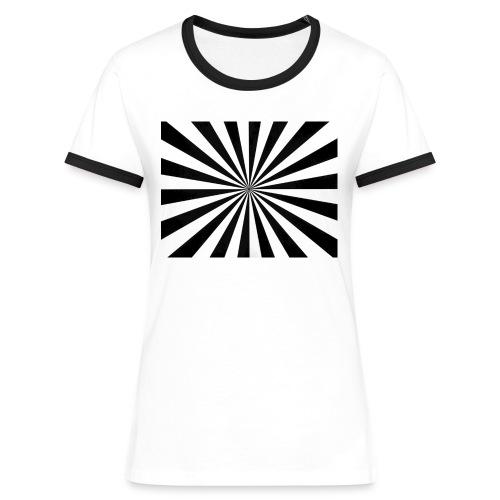 backfocuskaart - Vrouwen contrastshirt