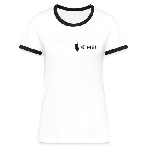 DIE GERÄT - Frauen Kontrast-T-Shirt