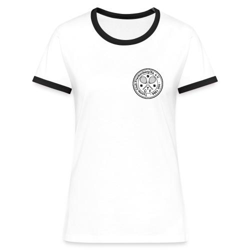 tcflogoneu10x10 - Frauen Kontrast-T-Shirt