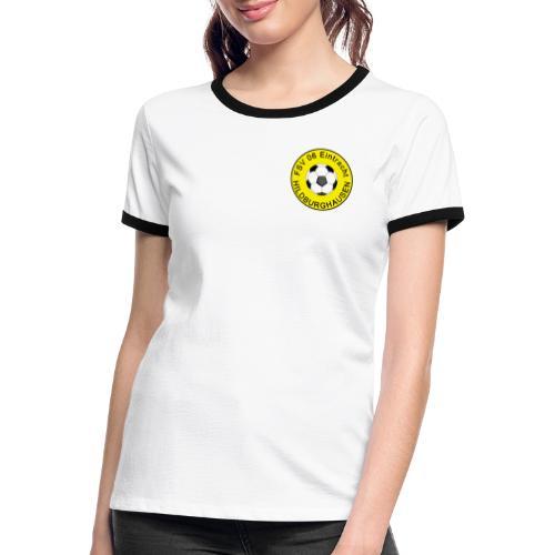 Hildburghausen FSV 06 Club Tradition - Frauen Kontrast-T-Shirt