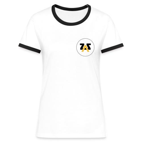 Logo seul - T-shirt contrasté Femme