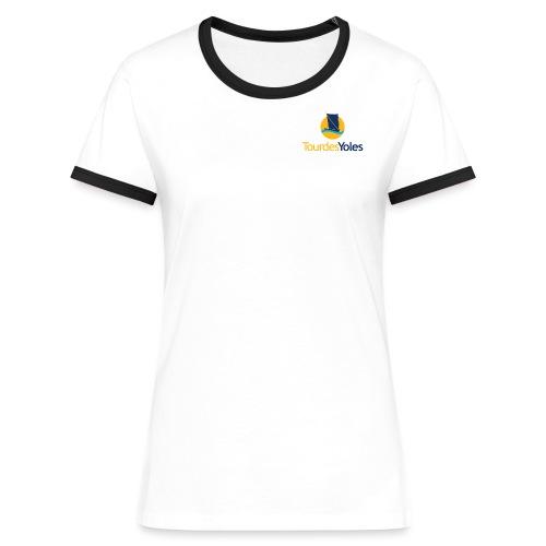 Tour des Yoles - T-shirt contrasté Femme