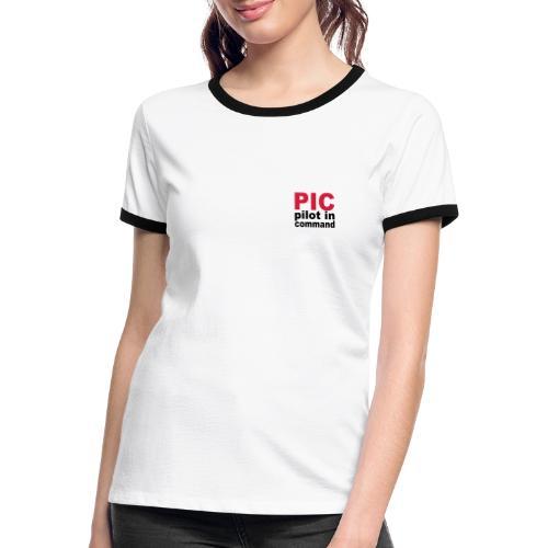 PIC Sign - Women's Ringer T-Shirt