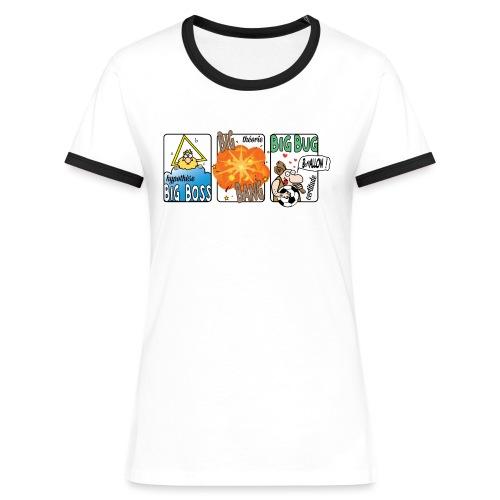big boss big bang big bug - T-shirt contrasté Femme