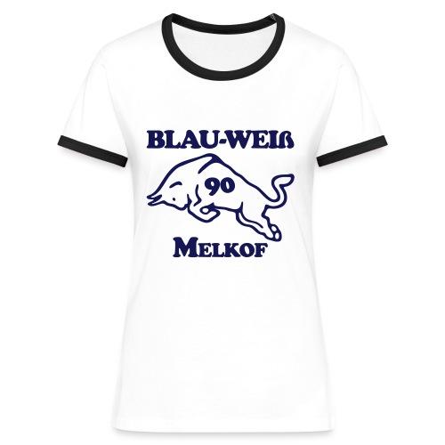 logo alternative zweifarbig35 - Frauen Kontrast-T-Shirt