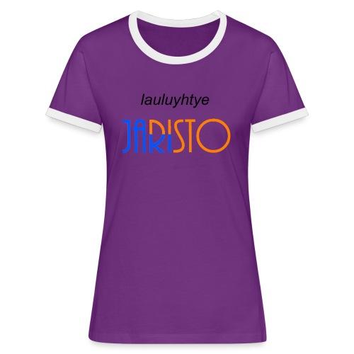 JaRisto Lauluyhtye - Naisten kontrastipaita