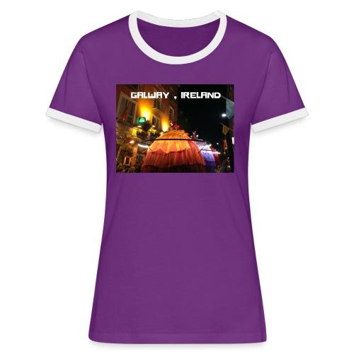GALWAY IRELAND MACNAS - Women's Ringer T-Shirt