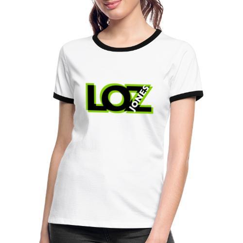 Big LOZ Logo - Women's Ringer T-Shirt