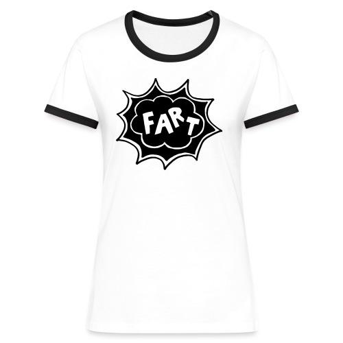 Fart 2020 Logo - T-shirt contrasté Femme